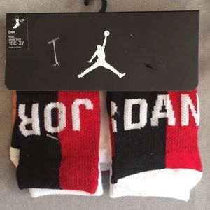 NWT Michael Jordan 2 Pair of Socks